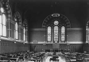 Photo of Convocation Hall, c. 1914, LSO Archives