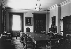 Photo of Convocation Room, c. 1914, LSO Archives