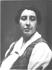 Photo of Frances Loring, Archives of Ontario