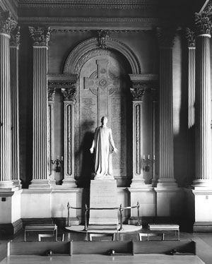 Photo of the World War One Memorial, LSO Archives