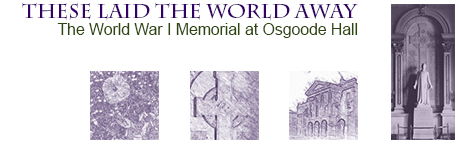 Title Banner - WW1 Memorial Exhibition
