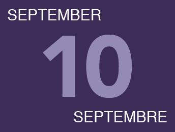September 10 Septembre