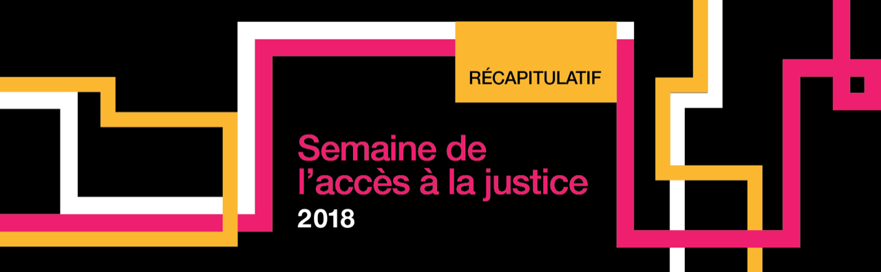 Access to Justice Week 2018: In Review