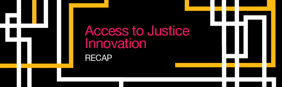Access to Justice Innovation