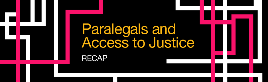 Paralegals and Access to Justice