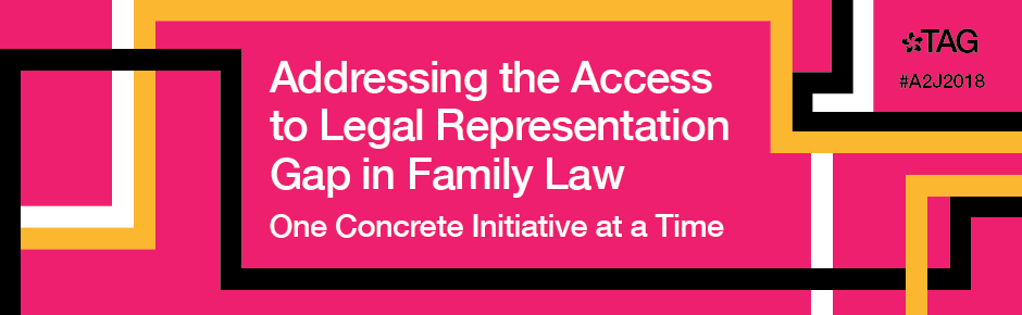 A2J Week 2018: Addressing the Access to Legal Representation Gap in Family Law