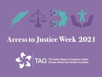 Semaine de l'accès à la justice 2021